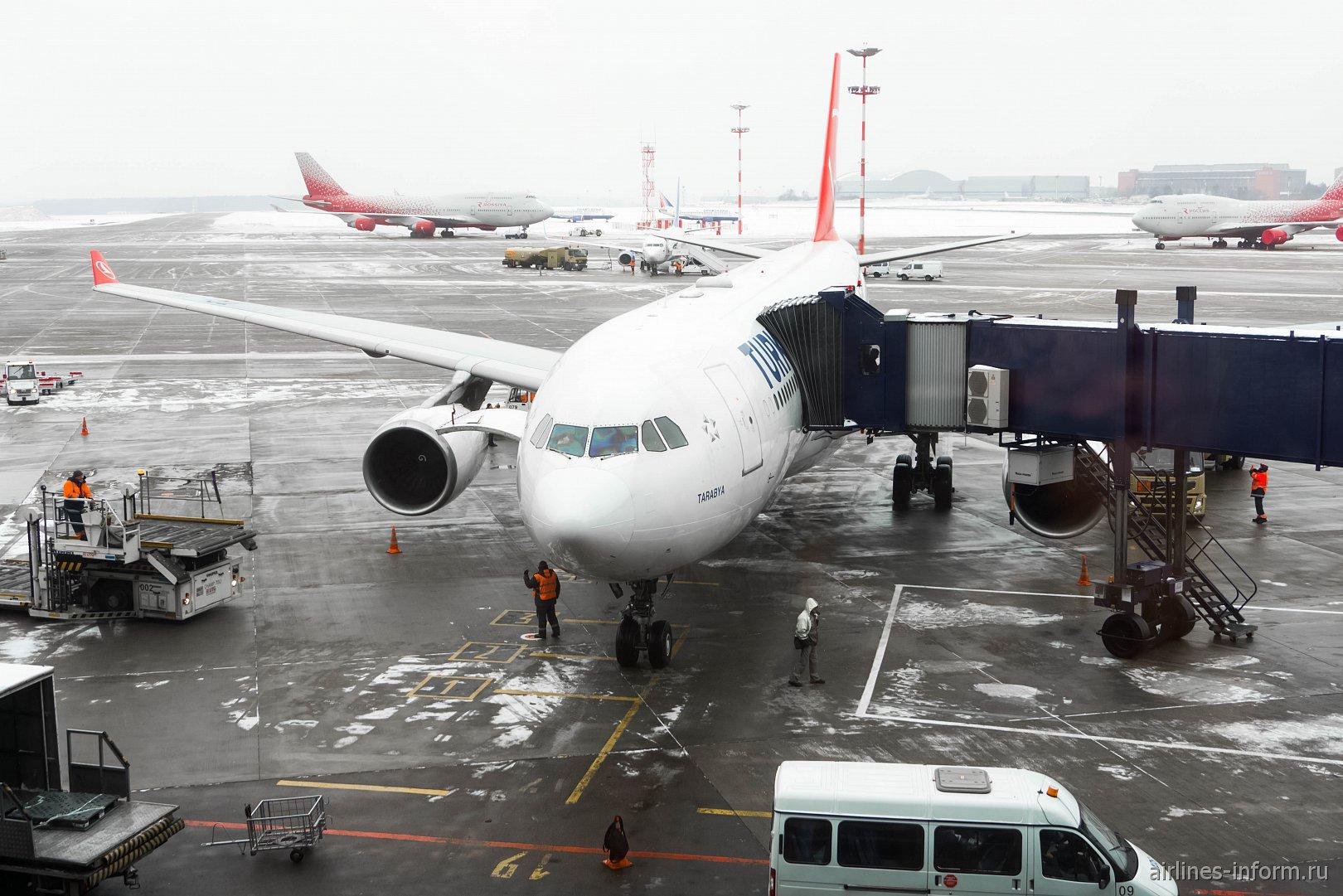 Москва - Стамбул TK414 Turkish Airlines на A330-200 от Jet Airways