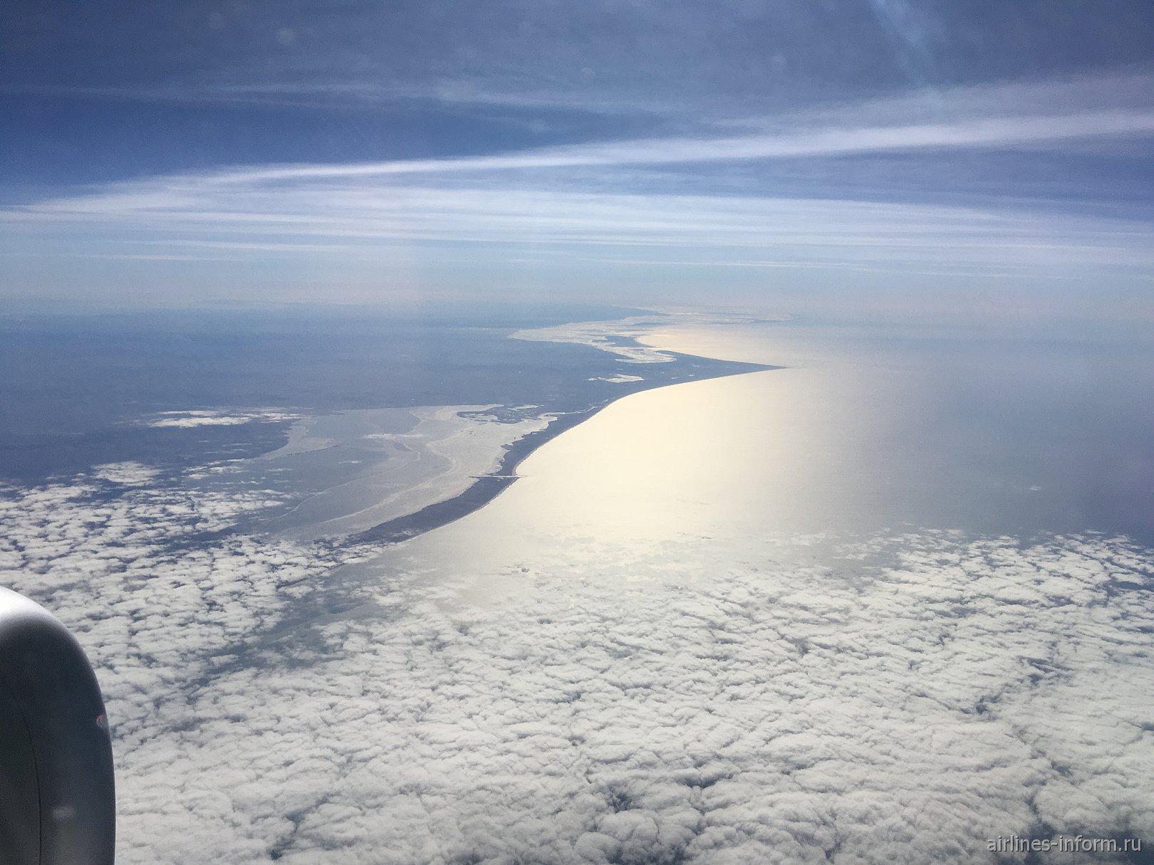 Северное море у берегов Дании