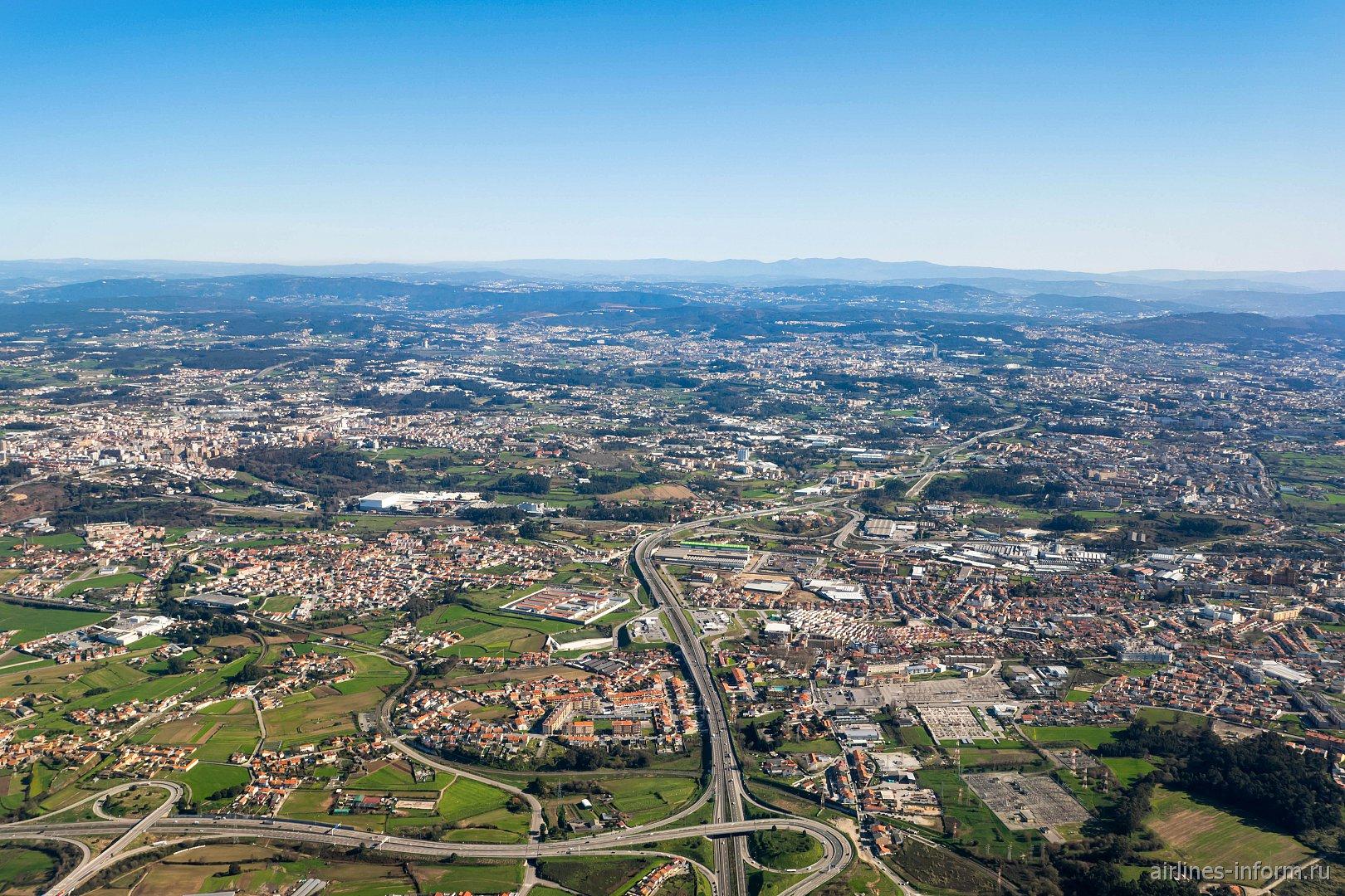 Пригороды города Порту