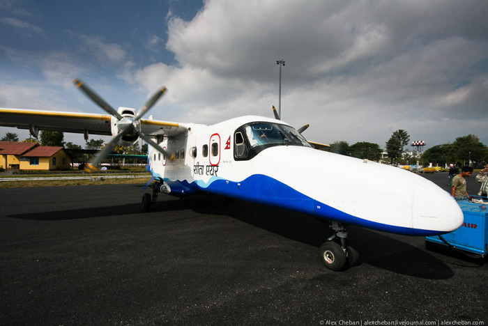 Самолет Dornier 228 авиакомпании Sita Air