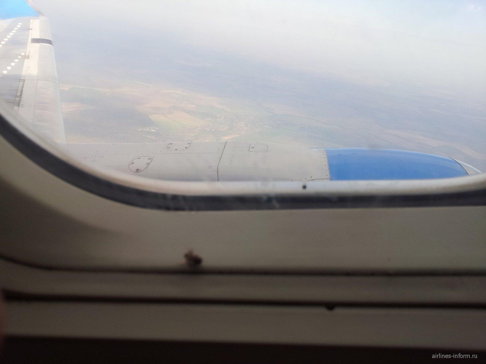Рейс Москва-Шымкент авиакомпании СКАТ