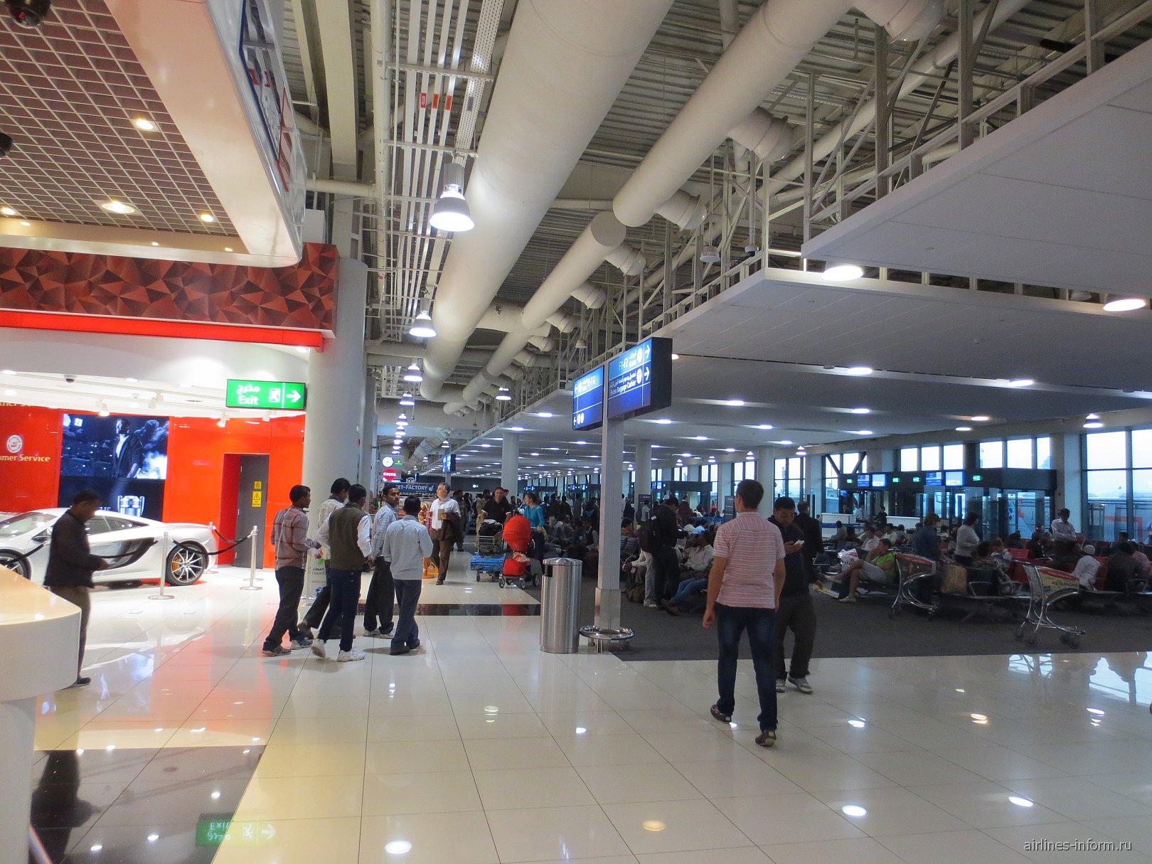 В терминале 2 аэропорта Дубай