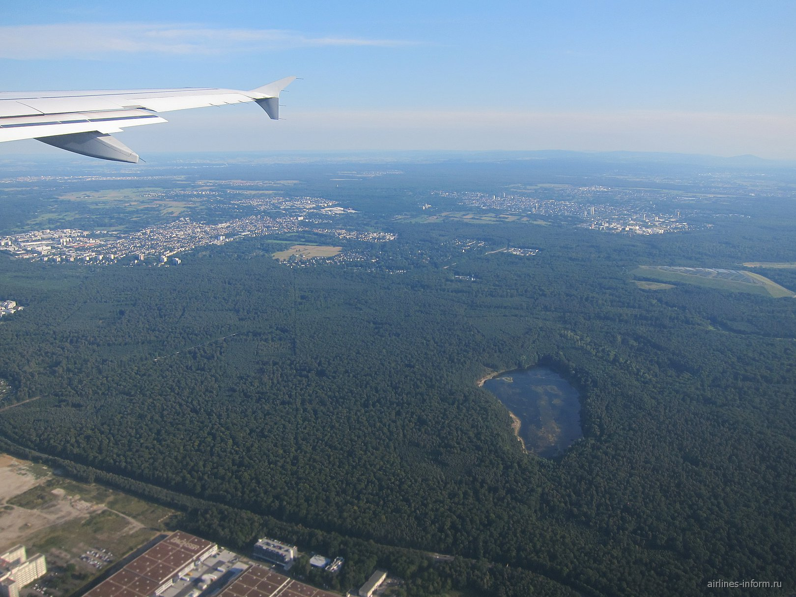 Рейс Люфтганзы Франкфурт-Москва