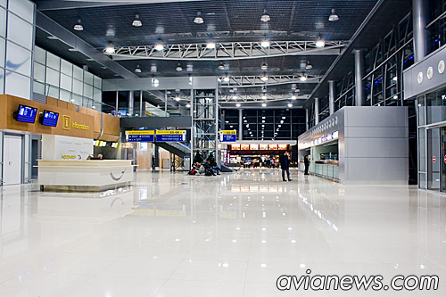 Kharkiv Airport inside