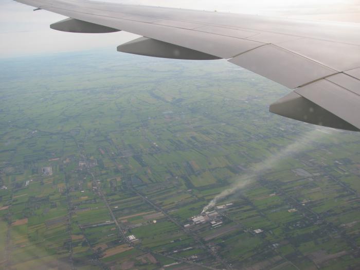 В небе над Таиландом