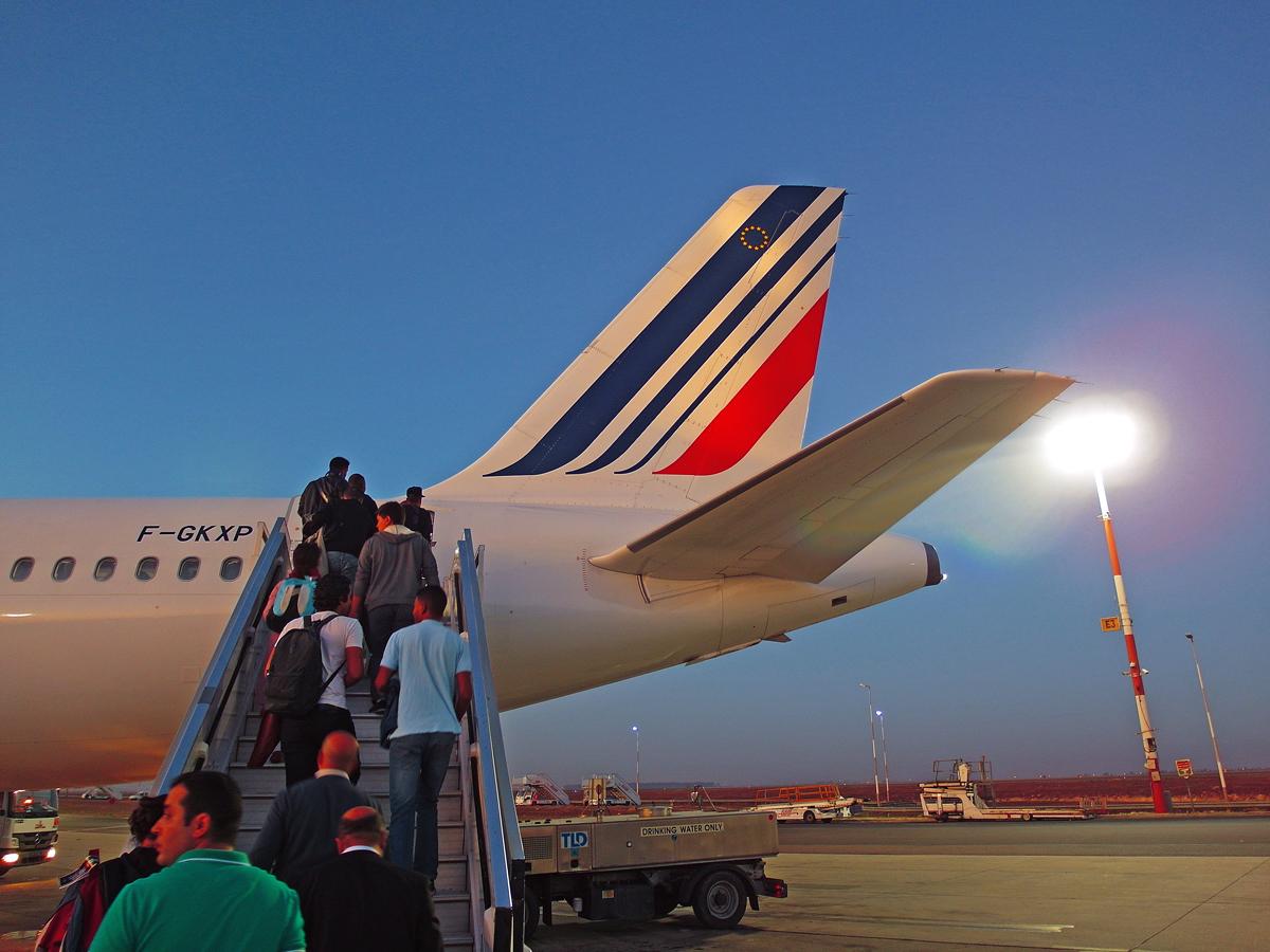 Касабланка - Париж с Air France. Путешествие в Марокко, часть 6.
