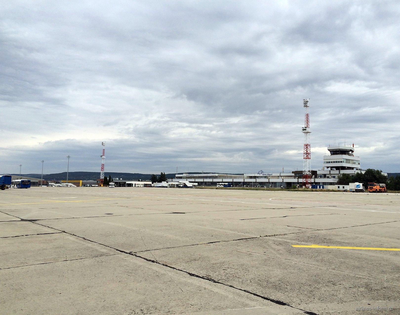 Старый терминал аэропорта Варна