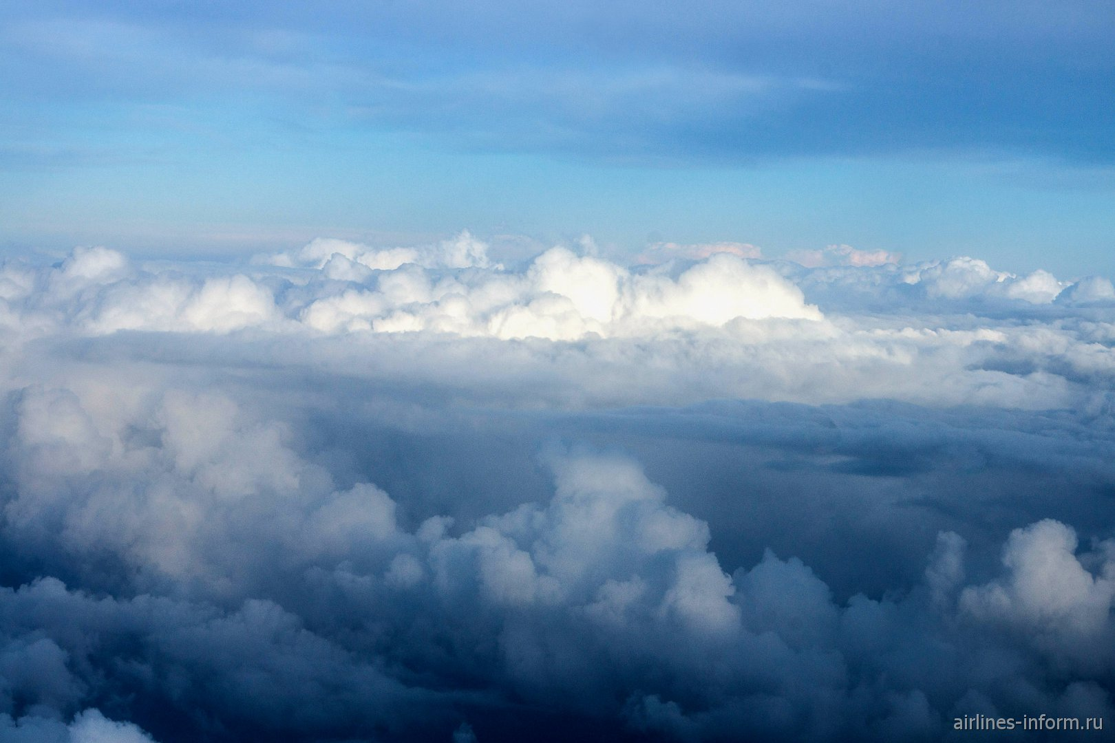 Облака над Италией