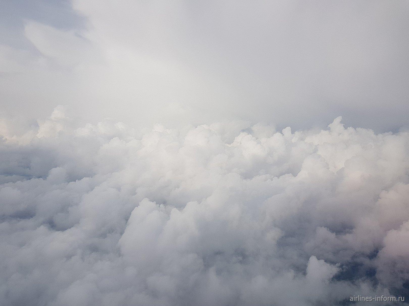 Облака после грозового фронта