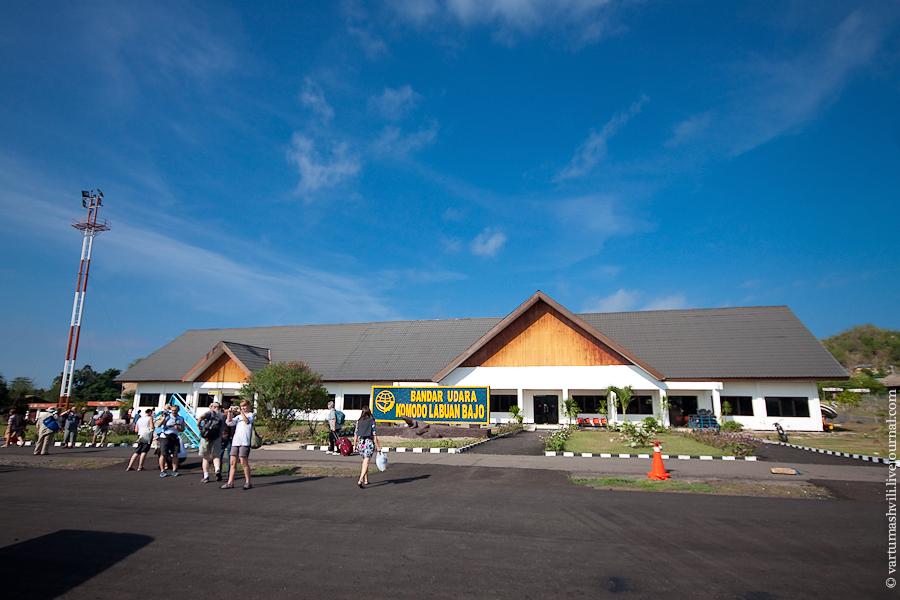 Labuan Bajo Komodo airport