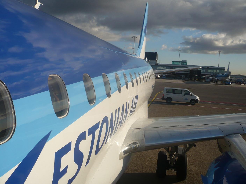 Embraer 170 Эстонских авиалиний