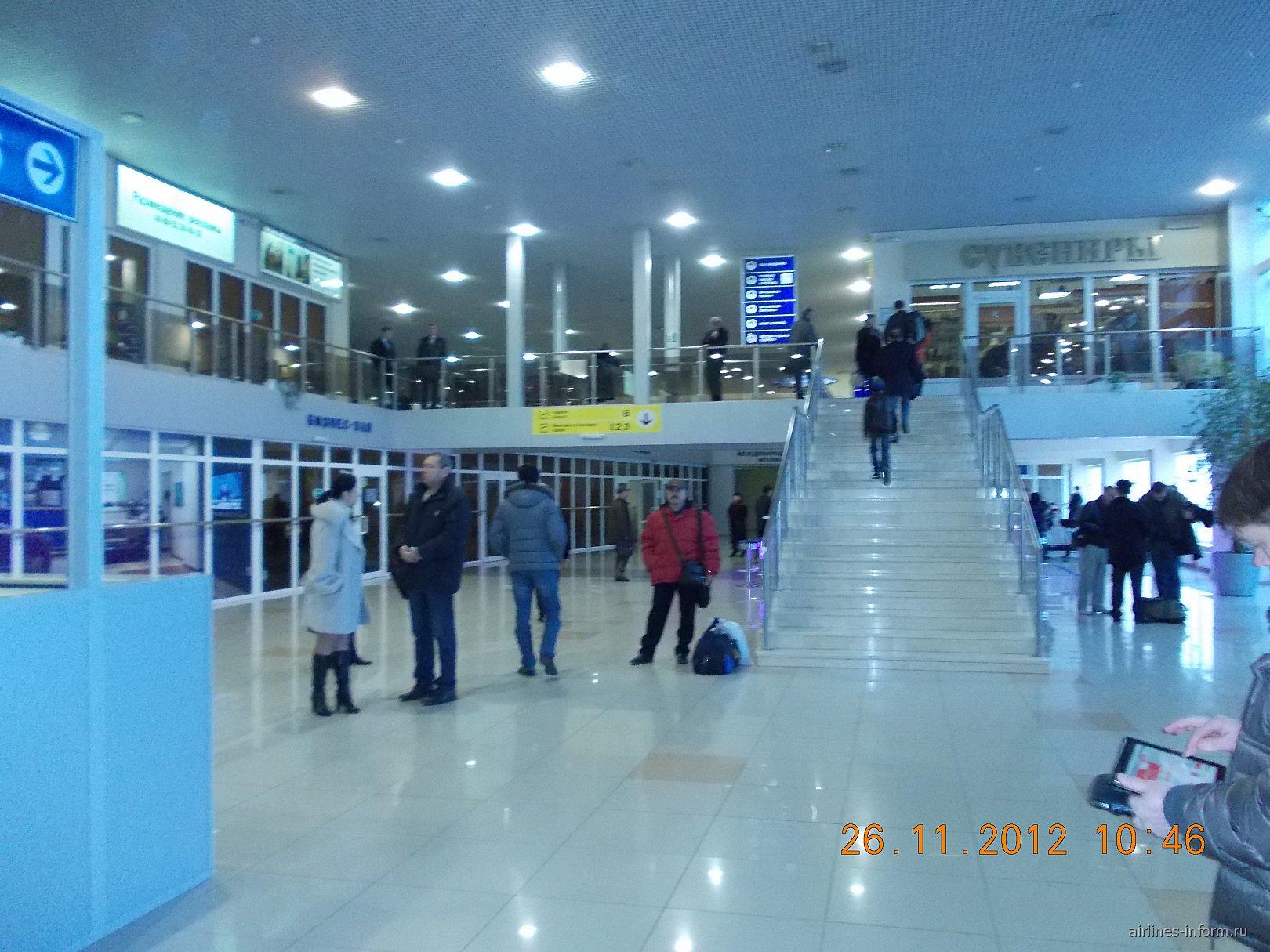 В аэропорту Астрахань