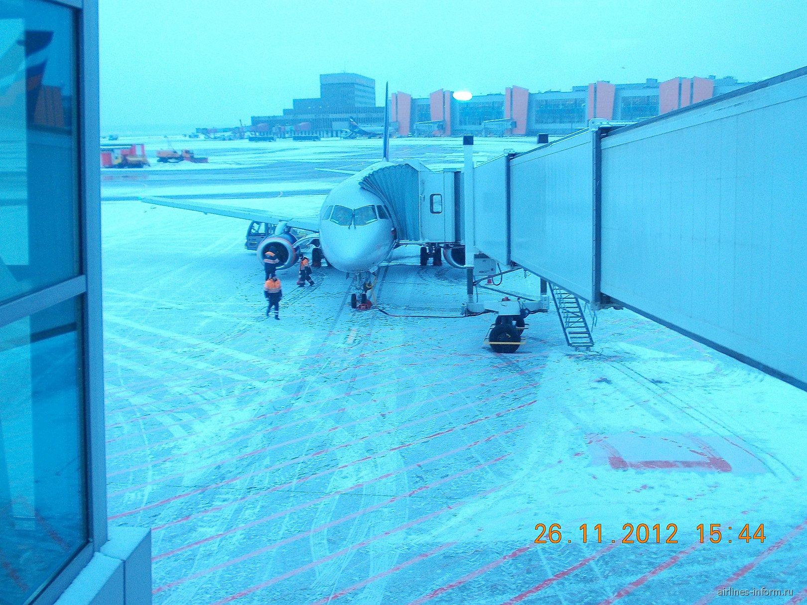 Рейс Аэрофлота Астрахань-Москва прибыл в Шереметьево