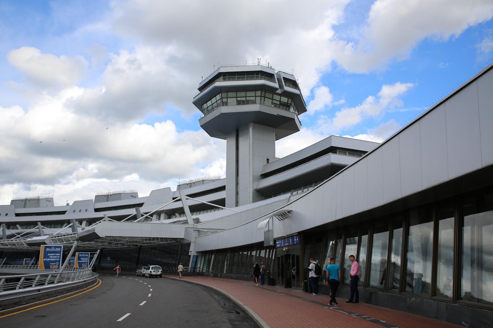 В аэропорту Минск Национальный