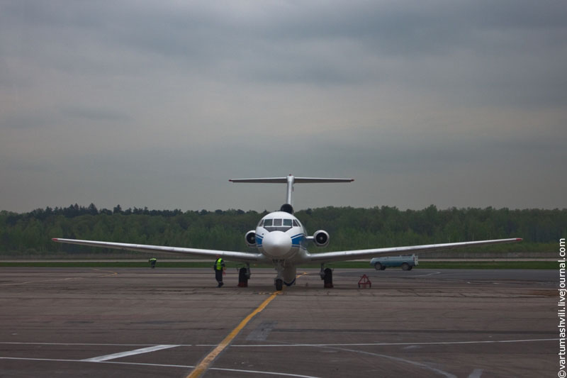 Yakovlev Yak-40 of Vologda Air Enterprise