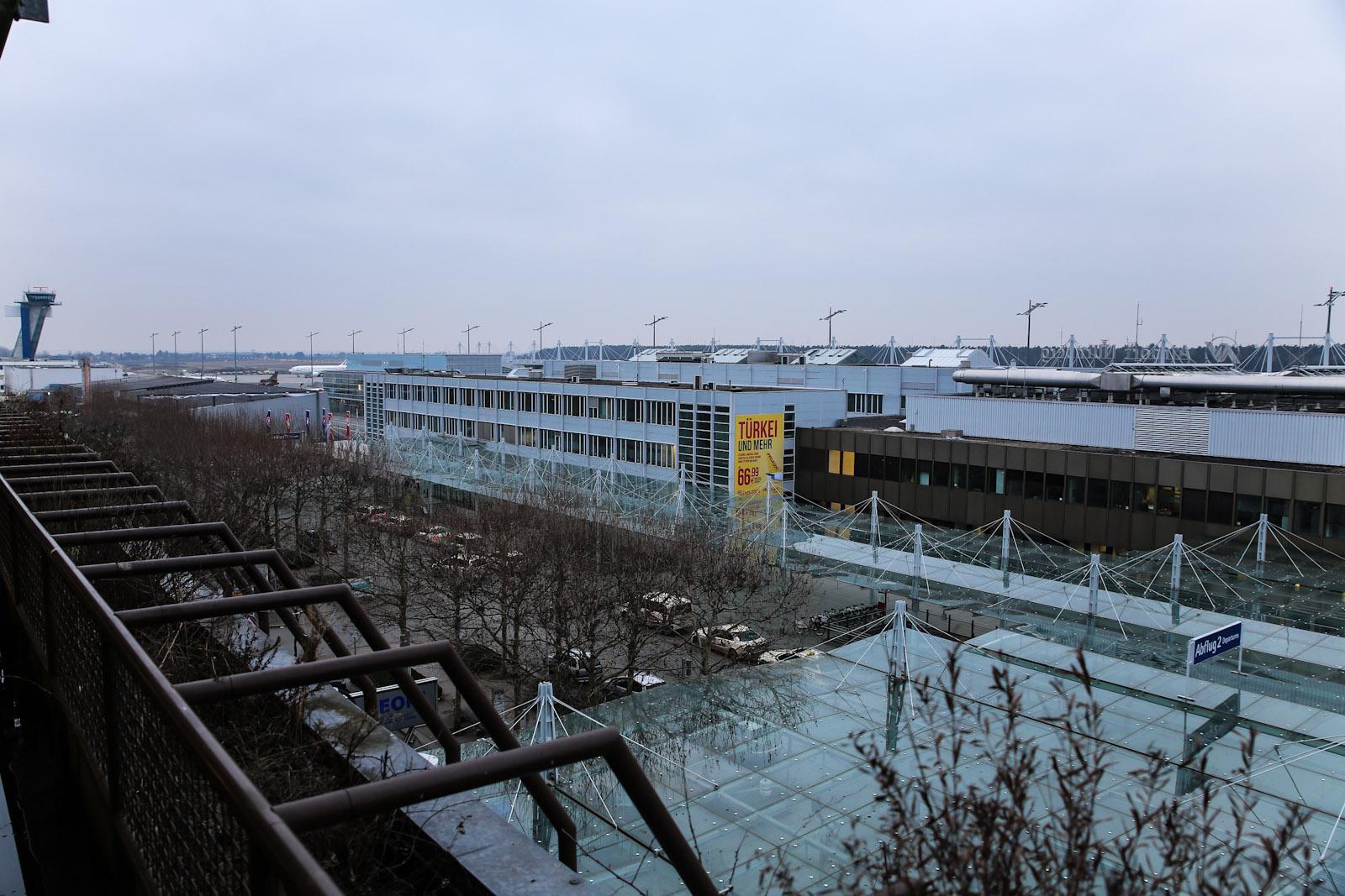 Левое крыло аэровокзала аэропорта Нюрнберг