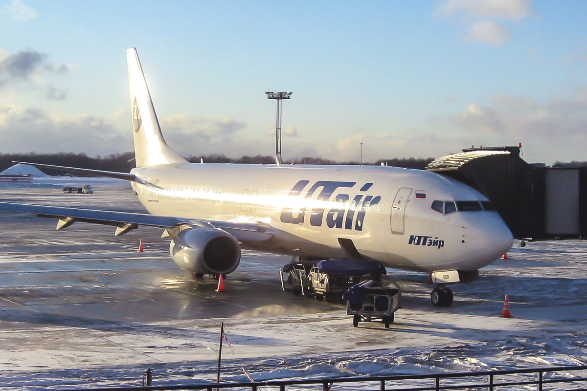 Boeing 737-800 of UTair airline