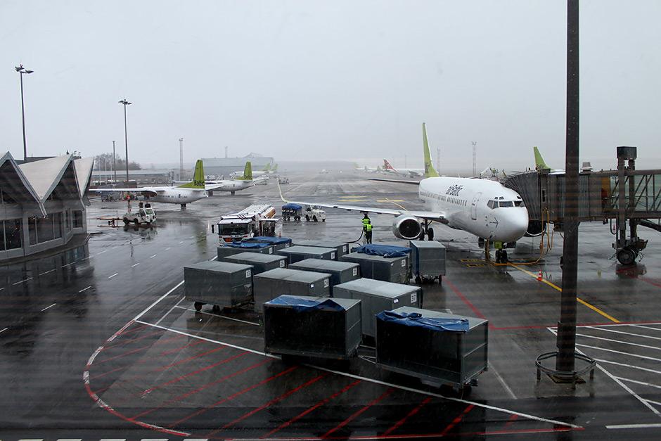 Перрон аэропорта Рига