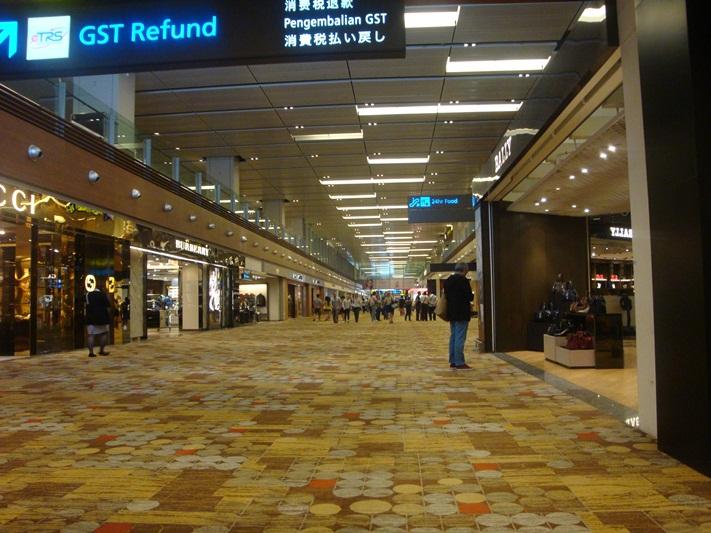 В аэропорту Сингапур Чанги