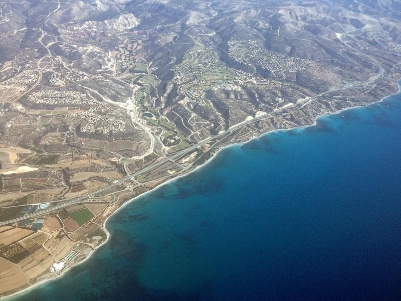 Морское побережье Кипра