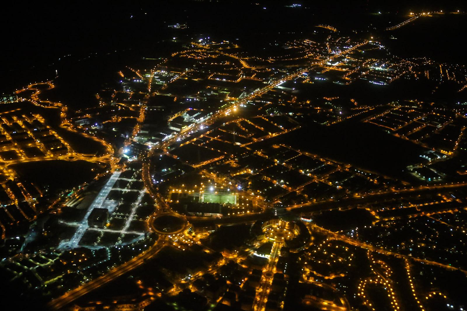 Жилые кварталы Мадрида