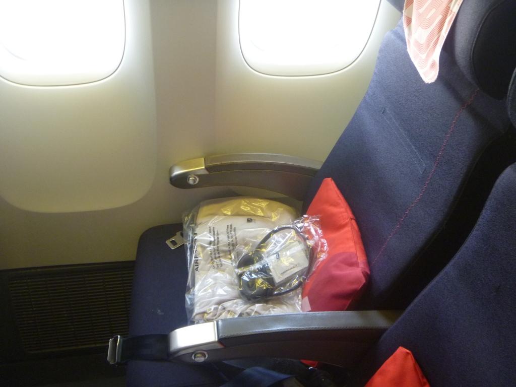 Места эконом-класса в Боинге-777-300 авиакомпании Air France