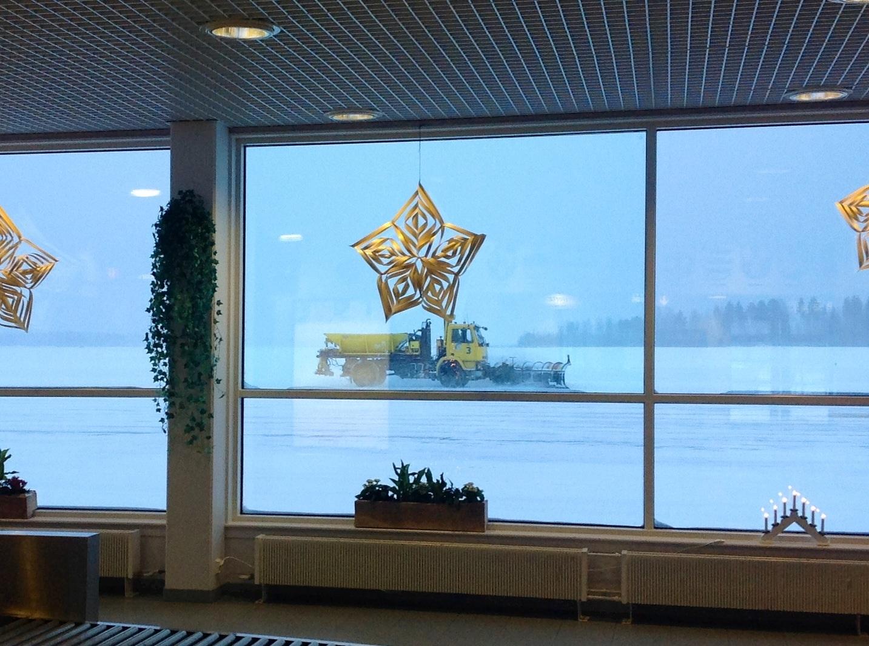 В аэропорту Каяни