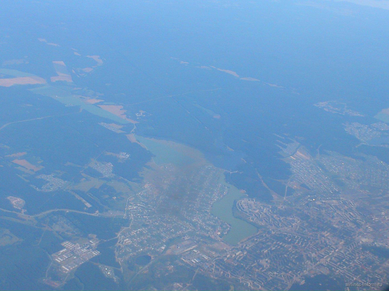 Ёбург с высоты