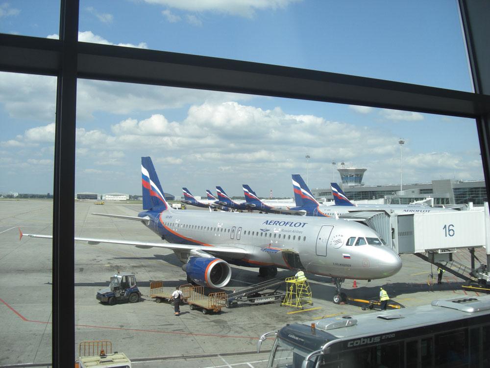 Airbus A320 авиакомпании Аэрофлот
