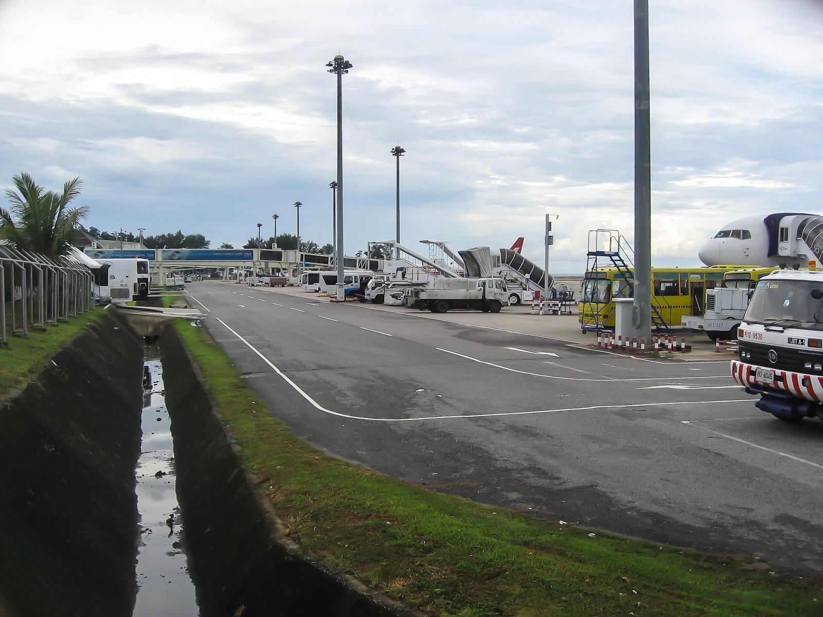 Перрон аэропорта Пхукет