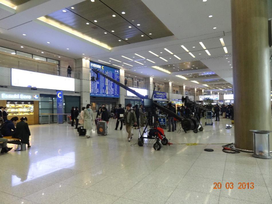 В аэропорту Сеул Инчхон