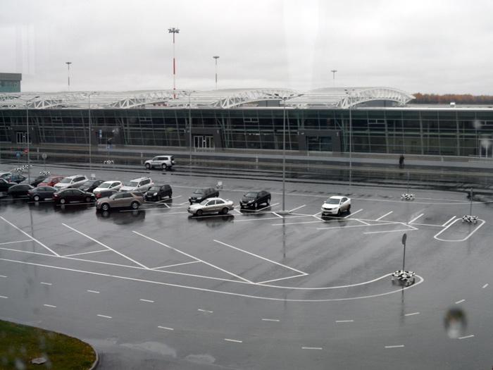 Терминал 1 внутренних рейсов аэропорта Казань