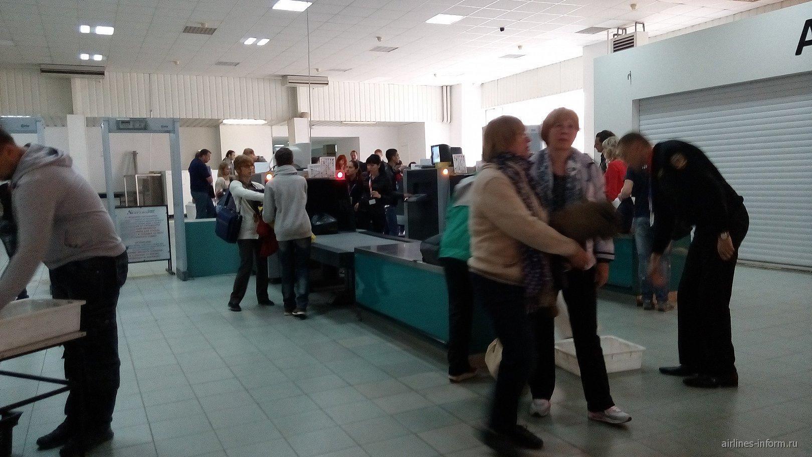 В аэропорту Симферополь