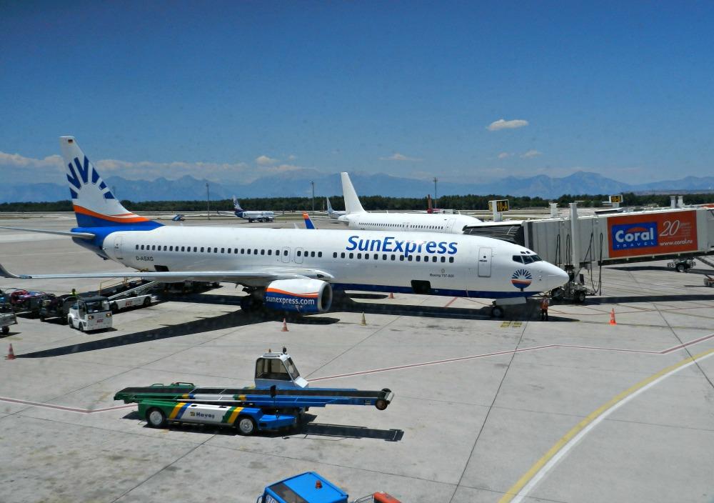 Боинг-737-800 авиакомпании SunExpress в аэропорту Анталья