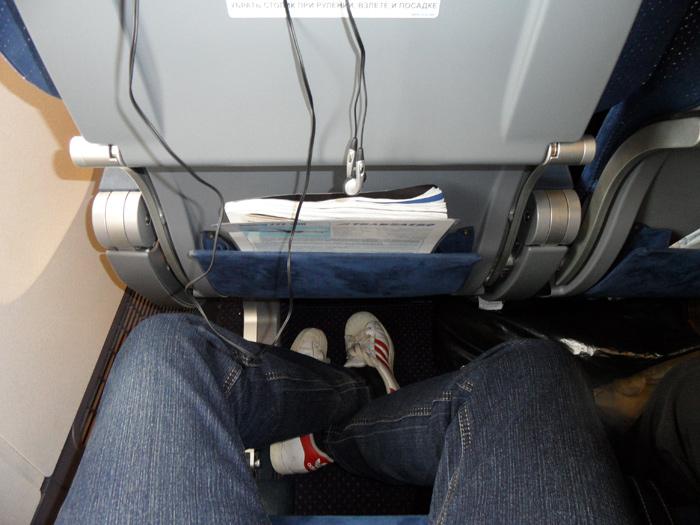 Салон самолета Боинг-777-300 Трансаэро