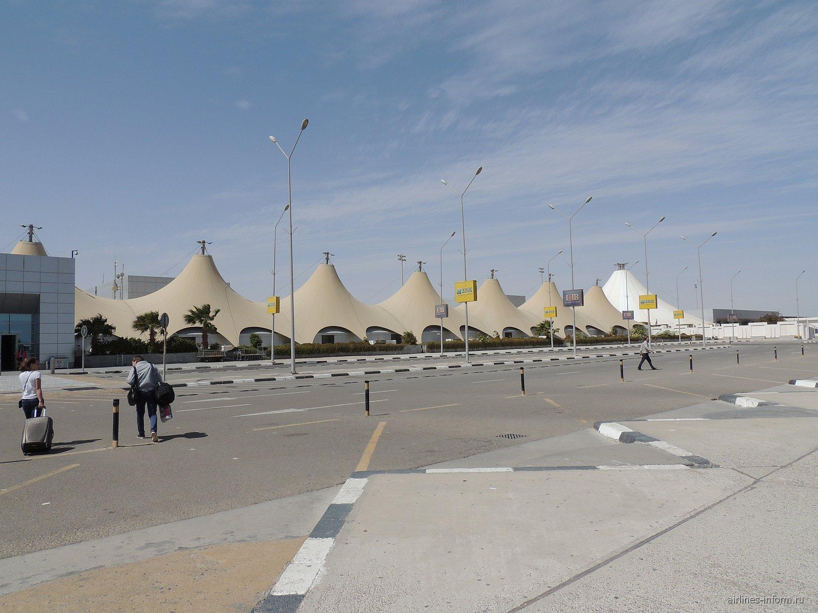 Терминал 2 аэропорта Хургада