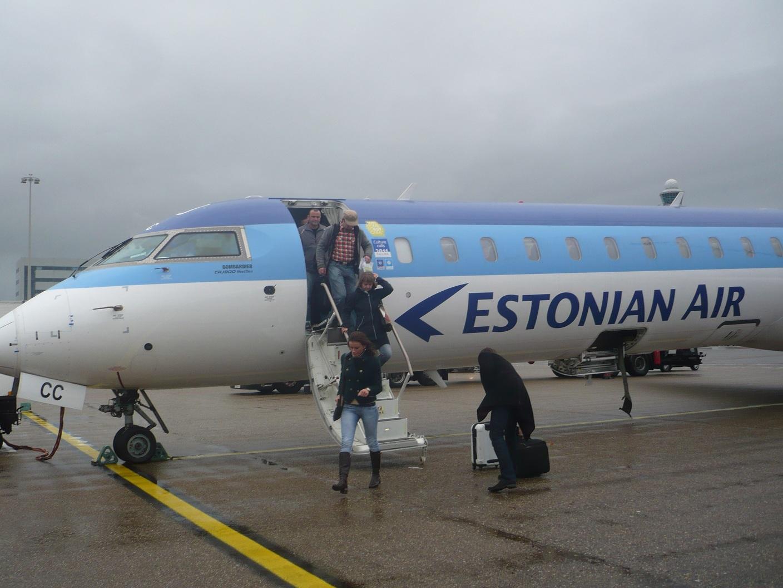 Санкт-Петербург-Таллин-Амстердам и обратно