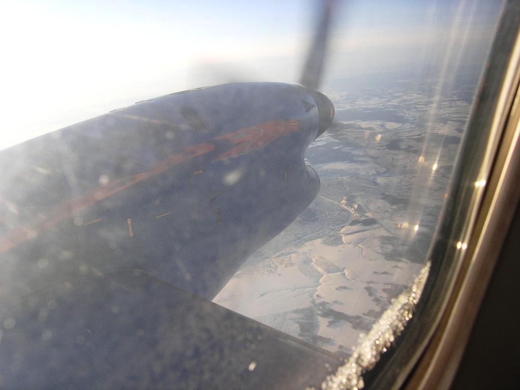 Yerkaterinburg-Perm flight