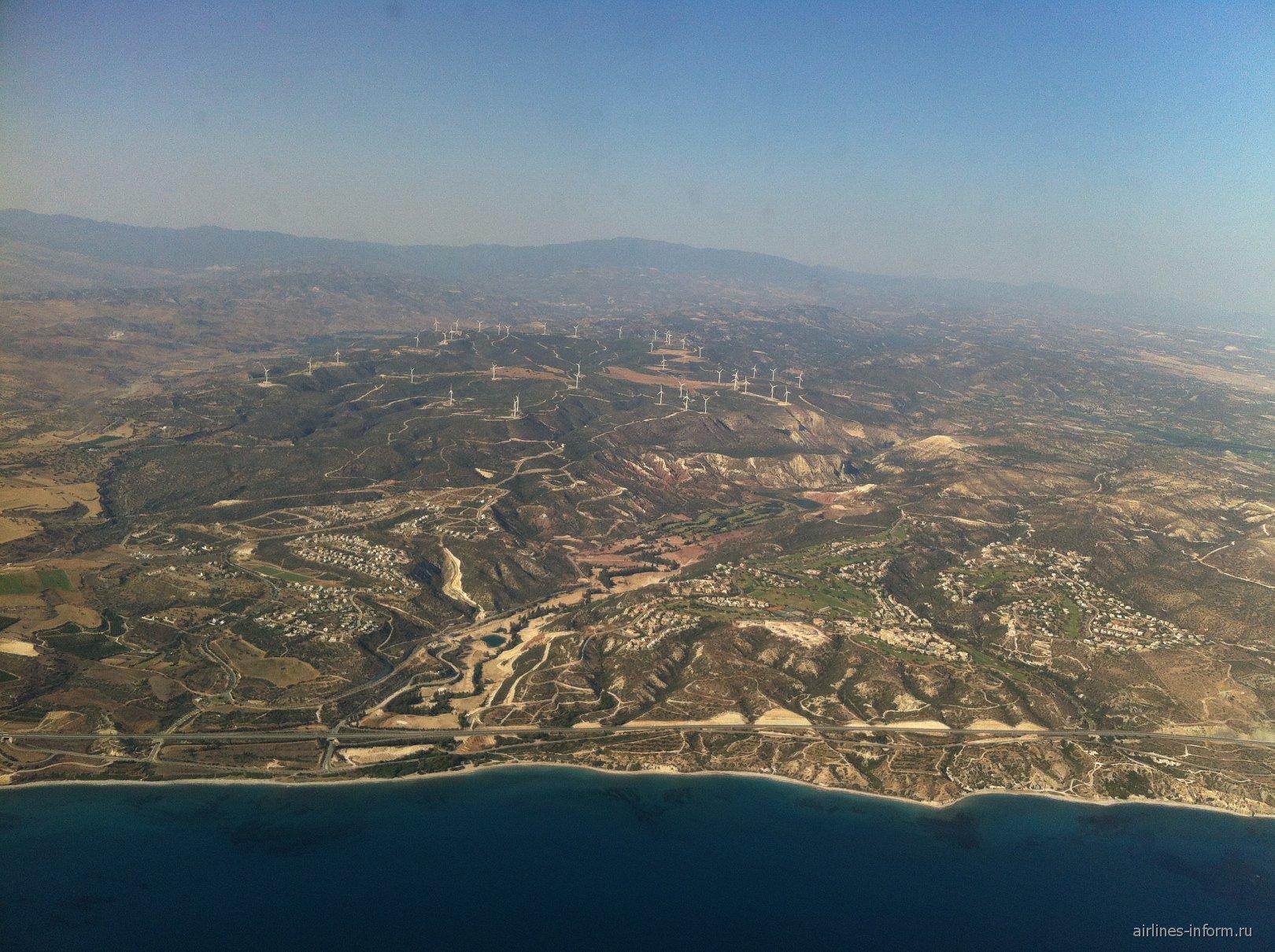 В полете над Кипром