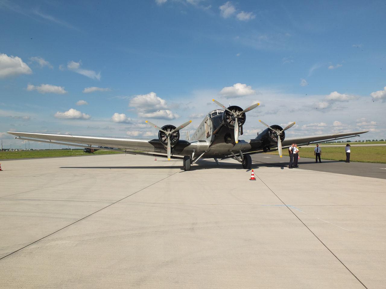 Самолет Junkers Ju-52 авиакомпании Lufthansa