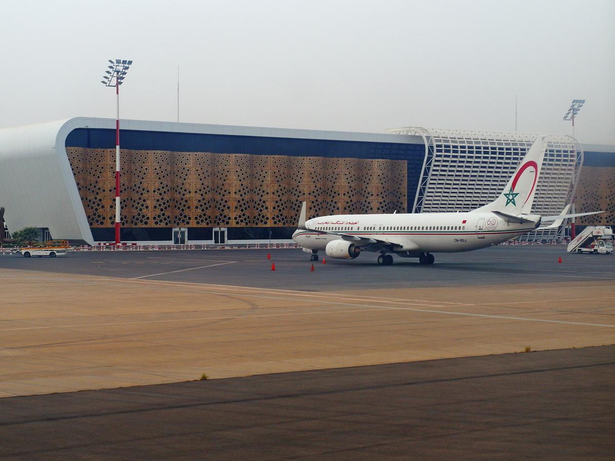 Новый пассажирский терминал аэропорта Марракеш Менара
