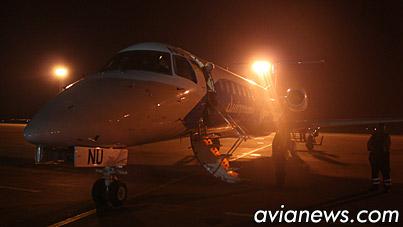 Embraer ERJ-145 в Борисполе