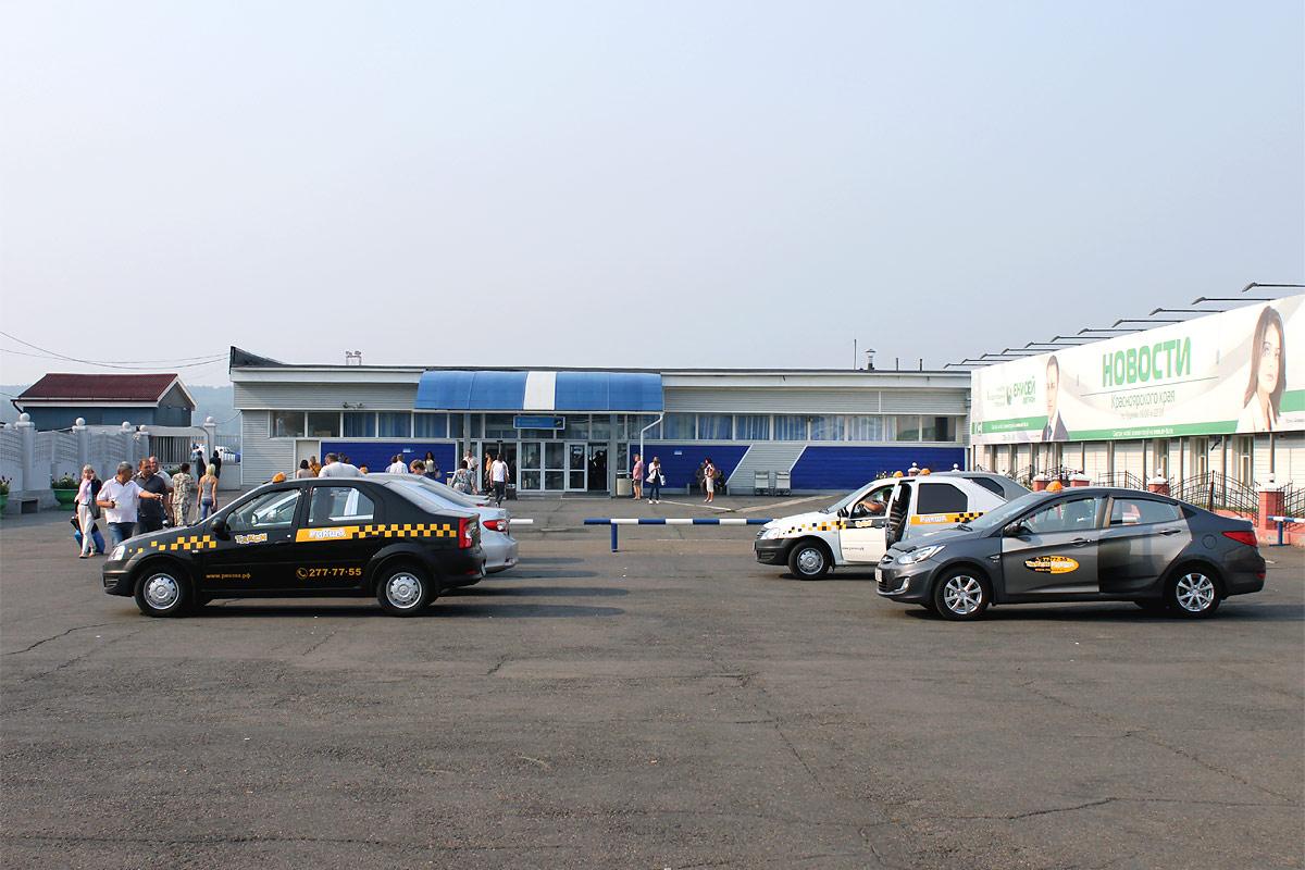 Терминал 3 аэропорта Емельяново