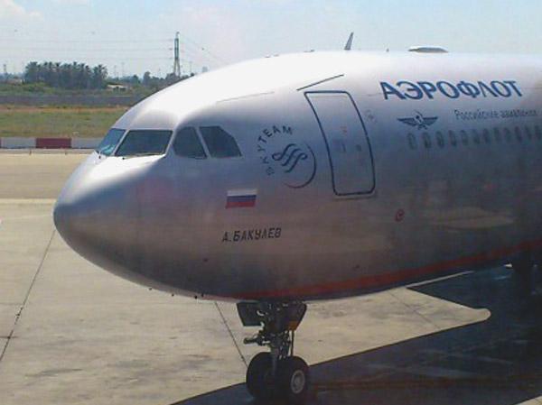 Аэрофлот: Тель-Авив - Москва