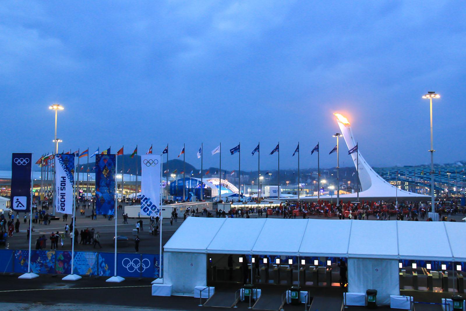 Олимпийский парк Сочи-2014