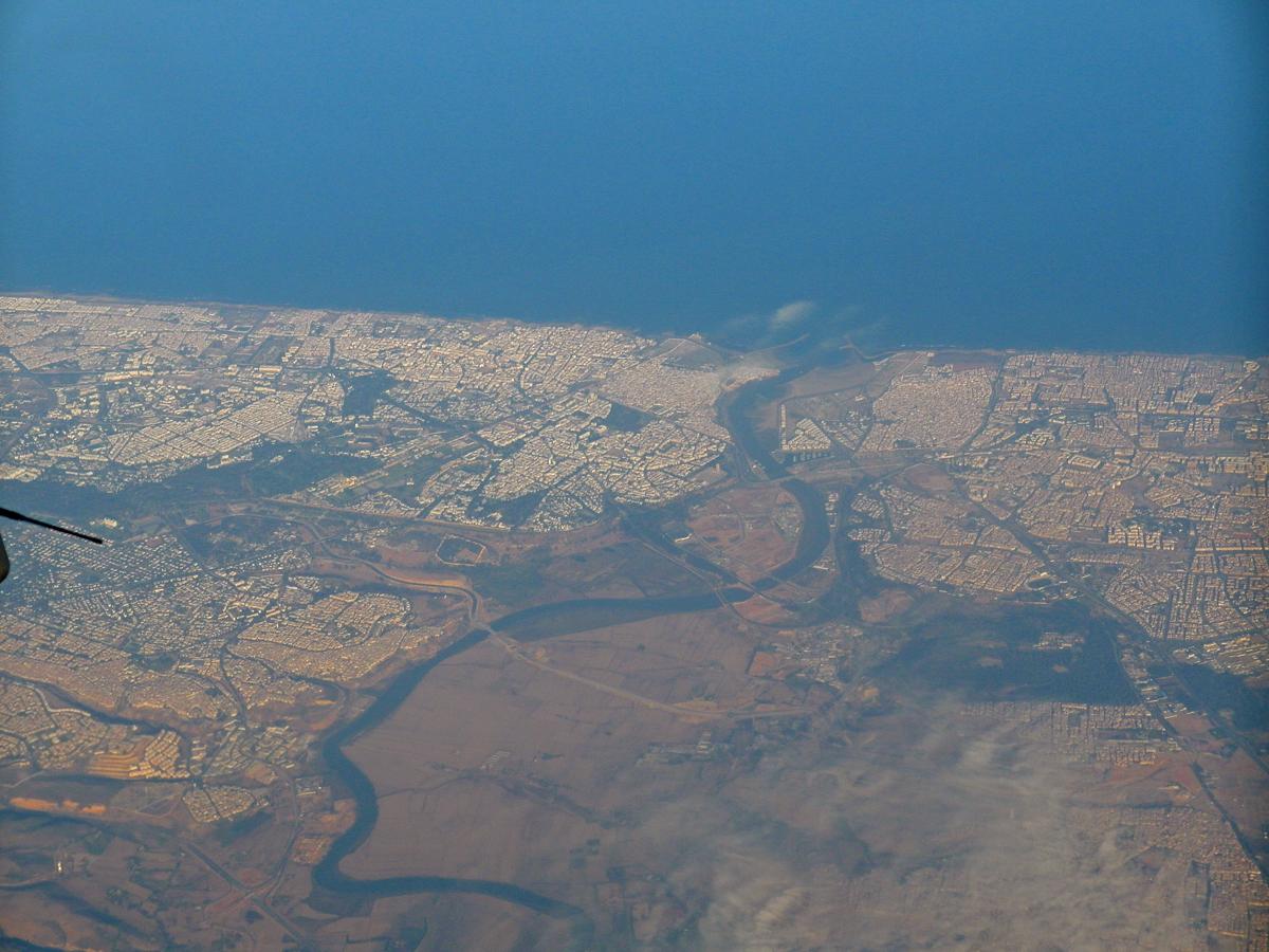 Центр города Рабат - столицы Марокко