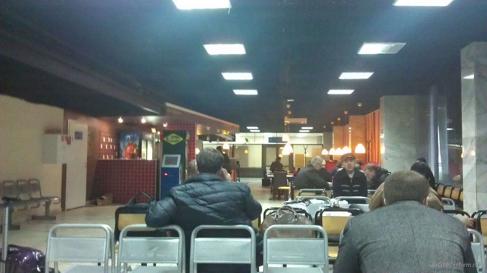 В аэропорту Казань