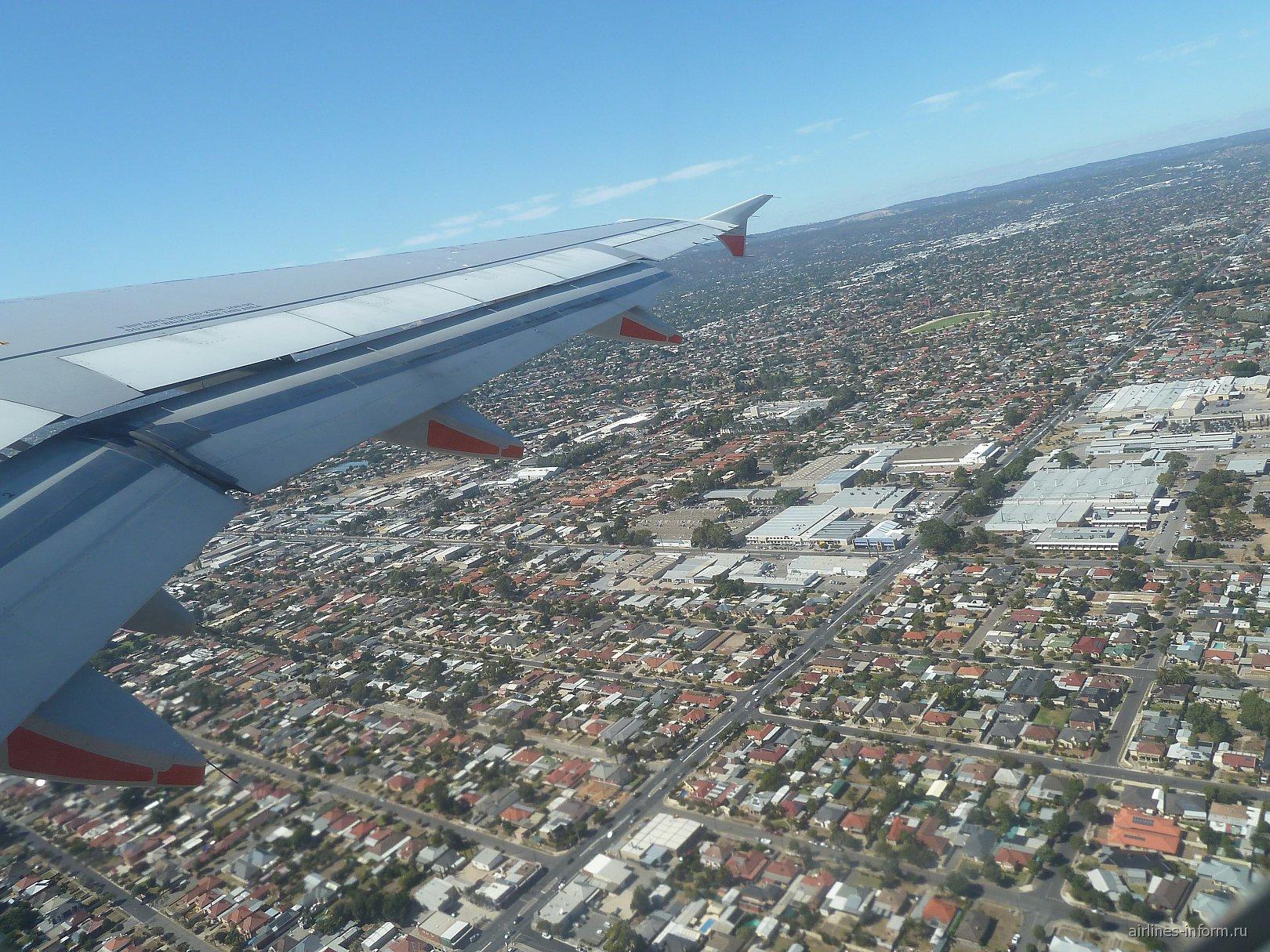 В полете над Аделаидой