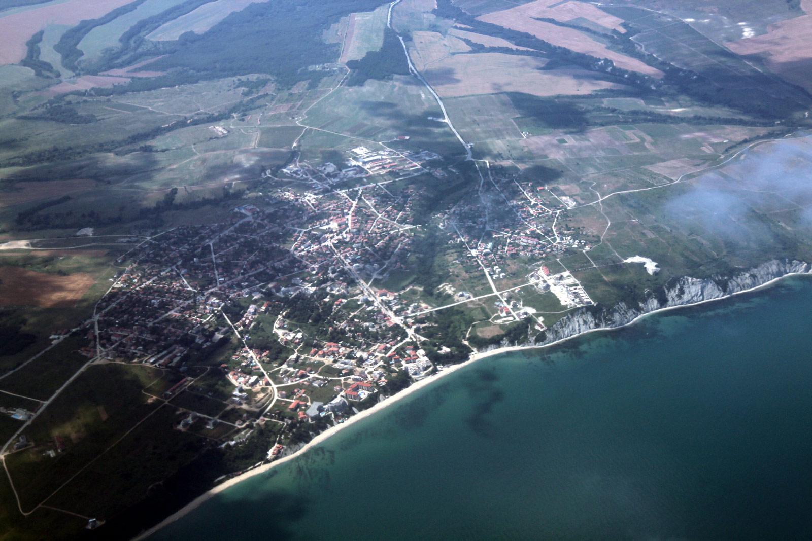 Город Бяла в Болгарии на берегу Черного моря