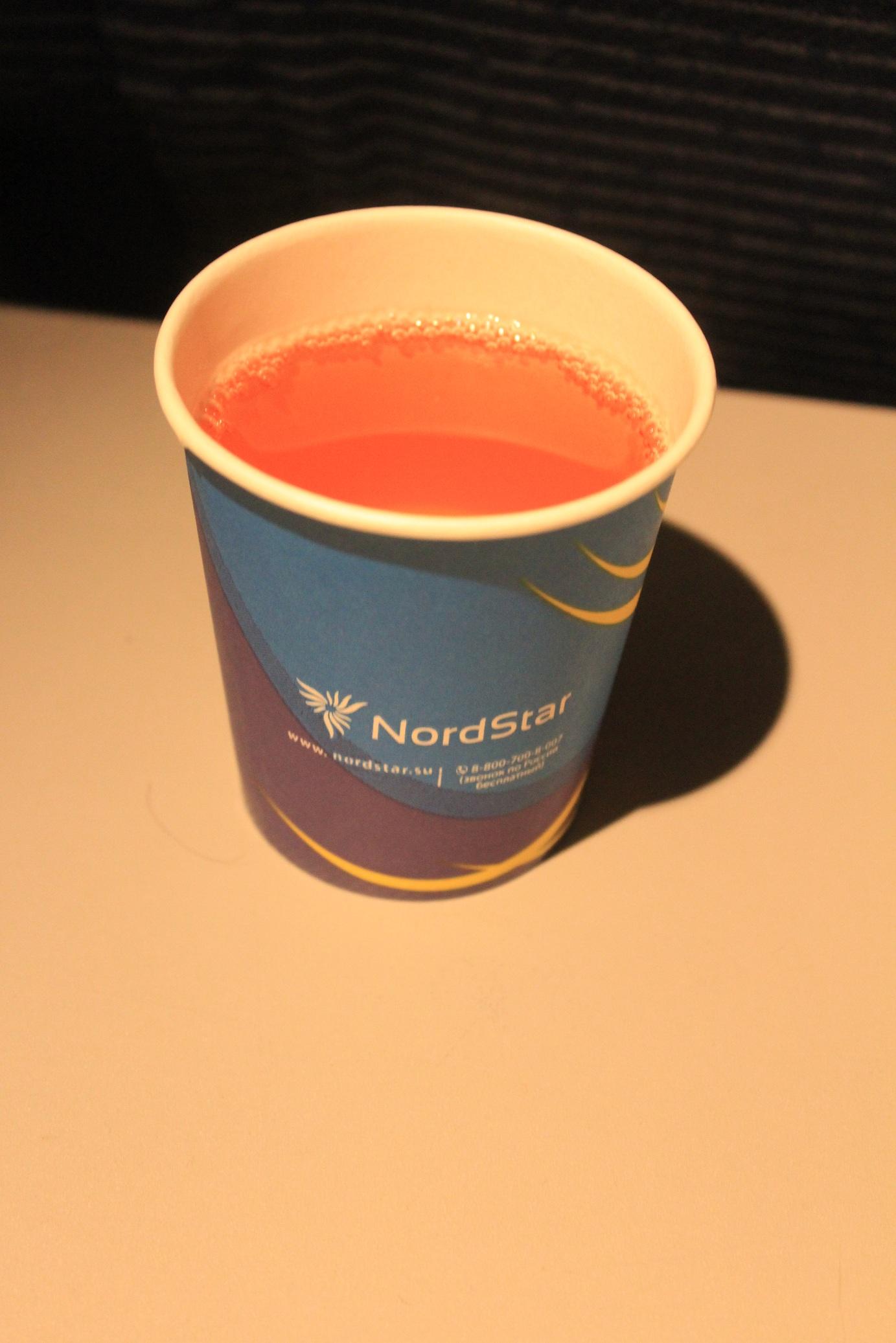 В самолете Боинг-737-800 авиакомпании Нордстар